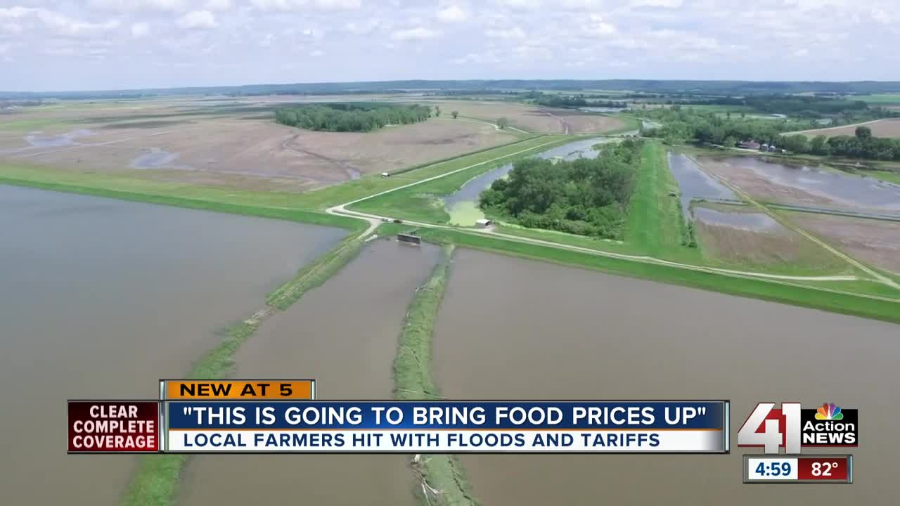 Farm-ageddon: Tariff-Slammed Farmers Now Battling Climate Change Flood Hell