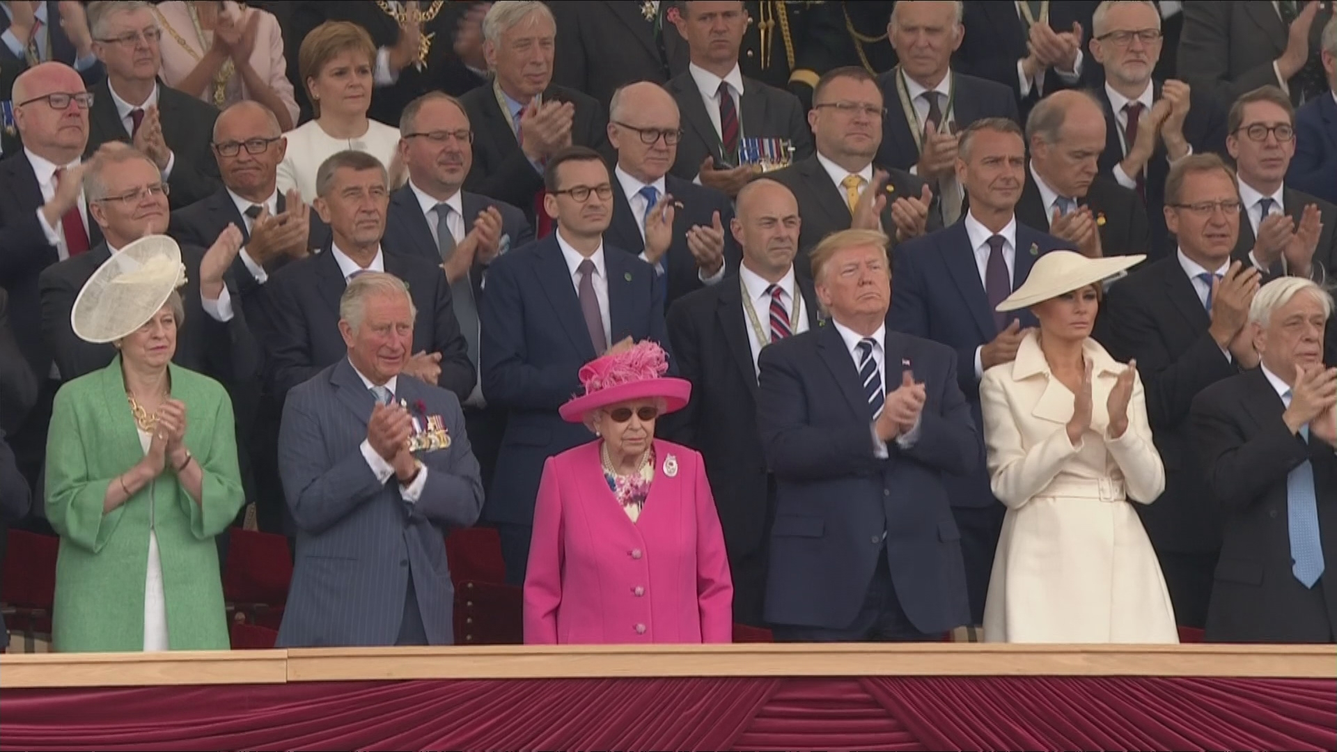 Donald Trump Boasts About 'Automatic Chemistry' With The Queen