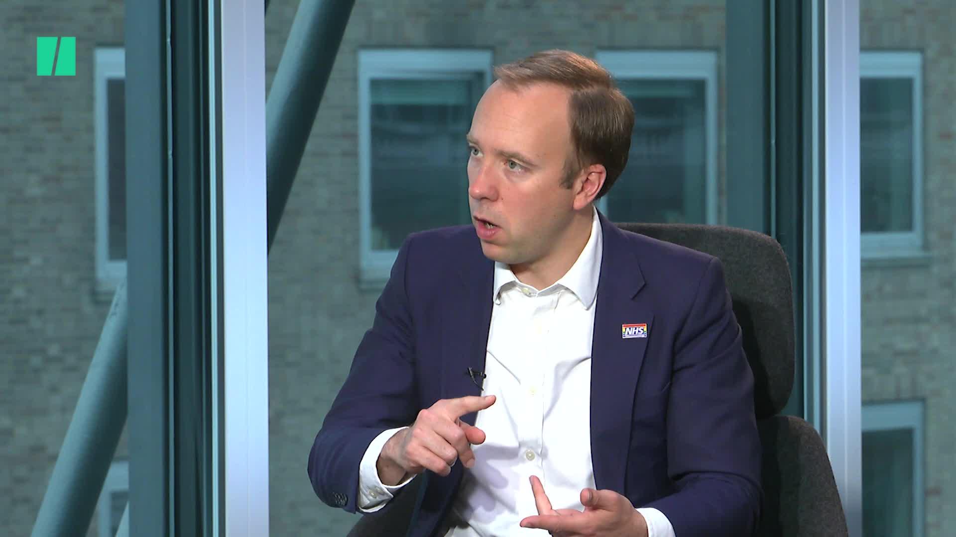 Matt Hancock On His Conservative Leadership Bid, NHS And Digital Rights