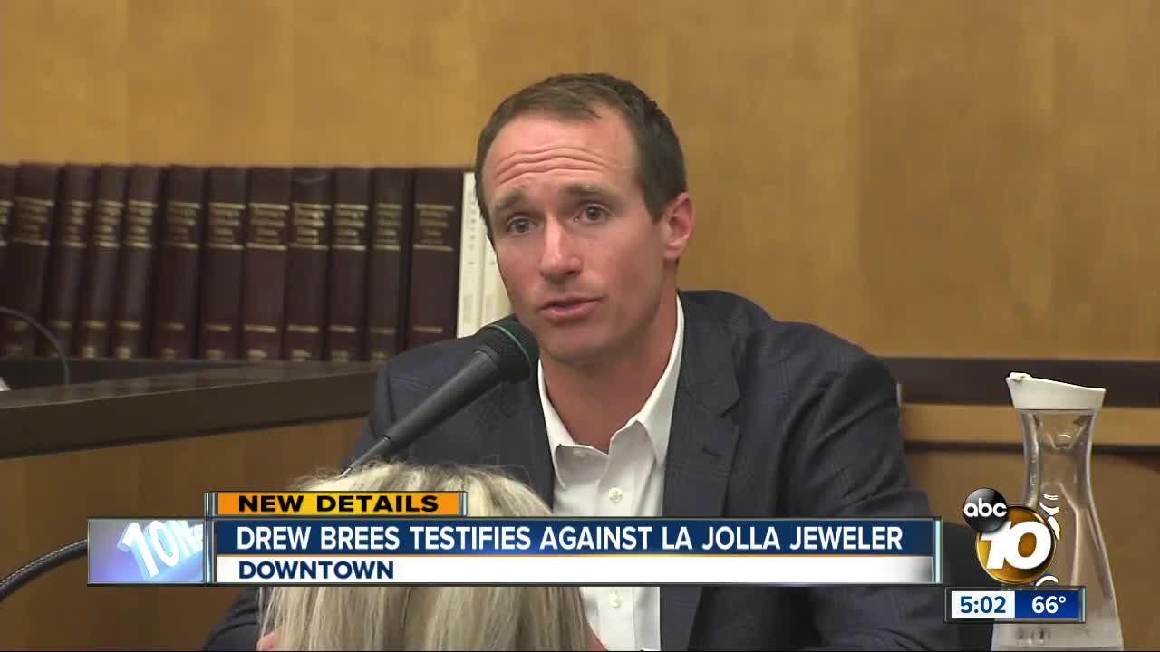 Local News - Closing Arguments Scheduled in Civil Trial Between Drew Brees and Jeweler