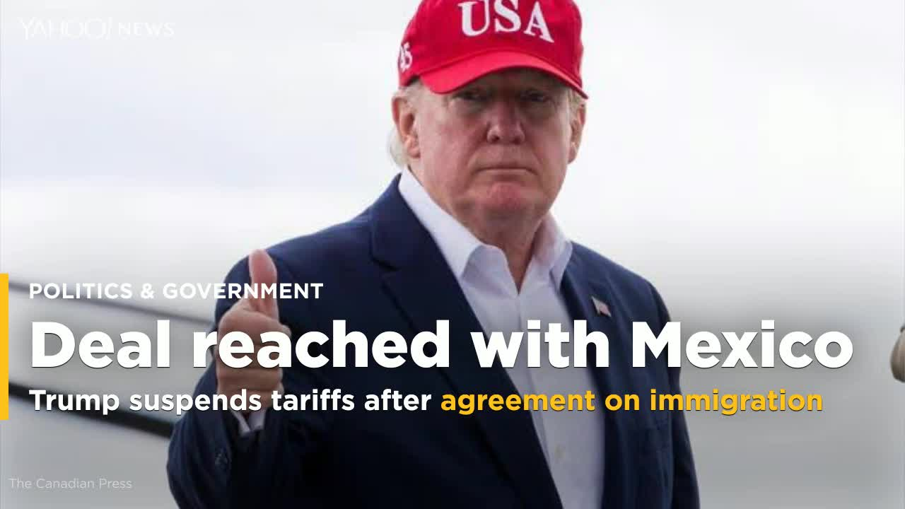 US And Mexico Reach Agreement To Prevent Tariffs, Says Trump
