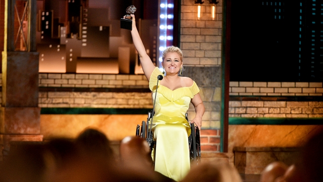 Tony Winner Ali Stroker Hopes One Day Her Wheelchair Won't Make You Uncomfortable