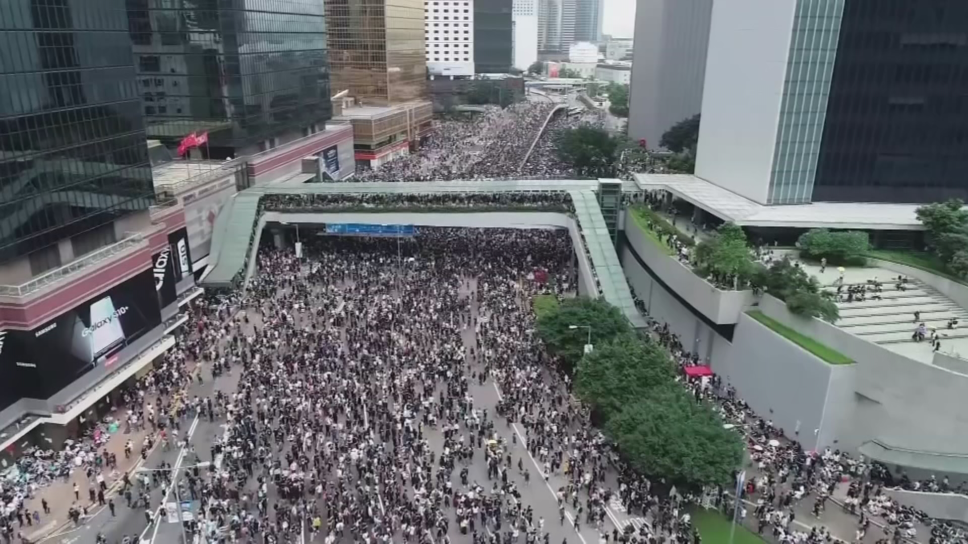 Hong Kong Protest: 'Nearly Two Million' March The Streets