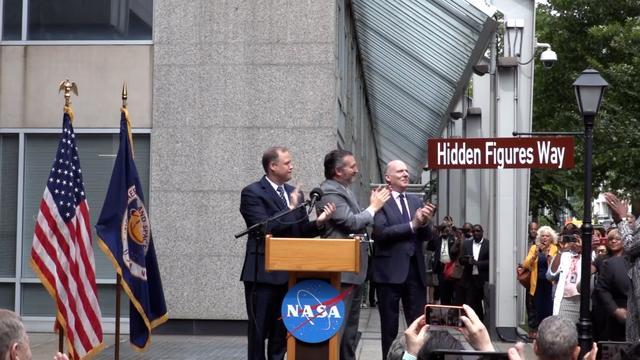 Washington D.C. Renames Street Outside NASA Headquarters 'Hidden Figures Way'