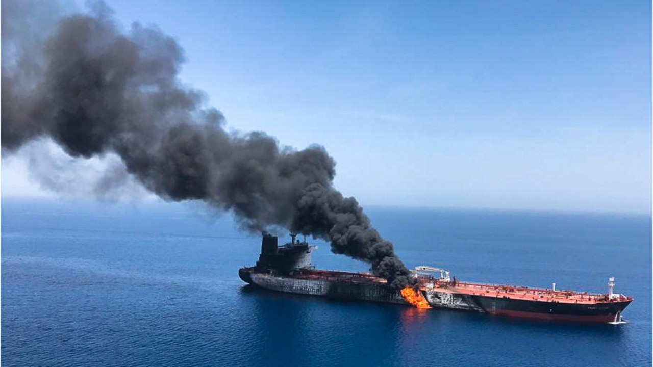 National News - Two Oil Tankers Damaged In Suspected Attacks in Gulf of Oman