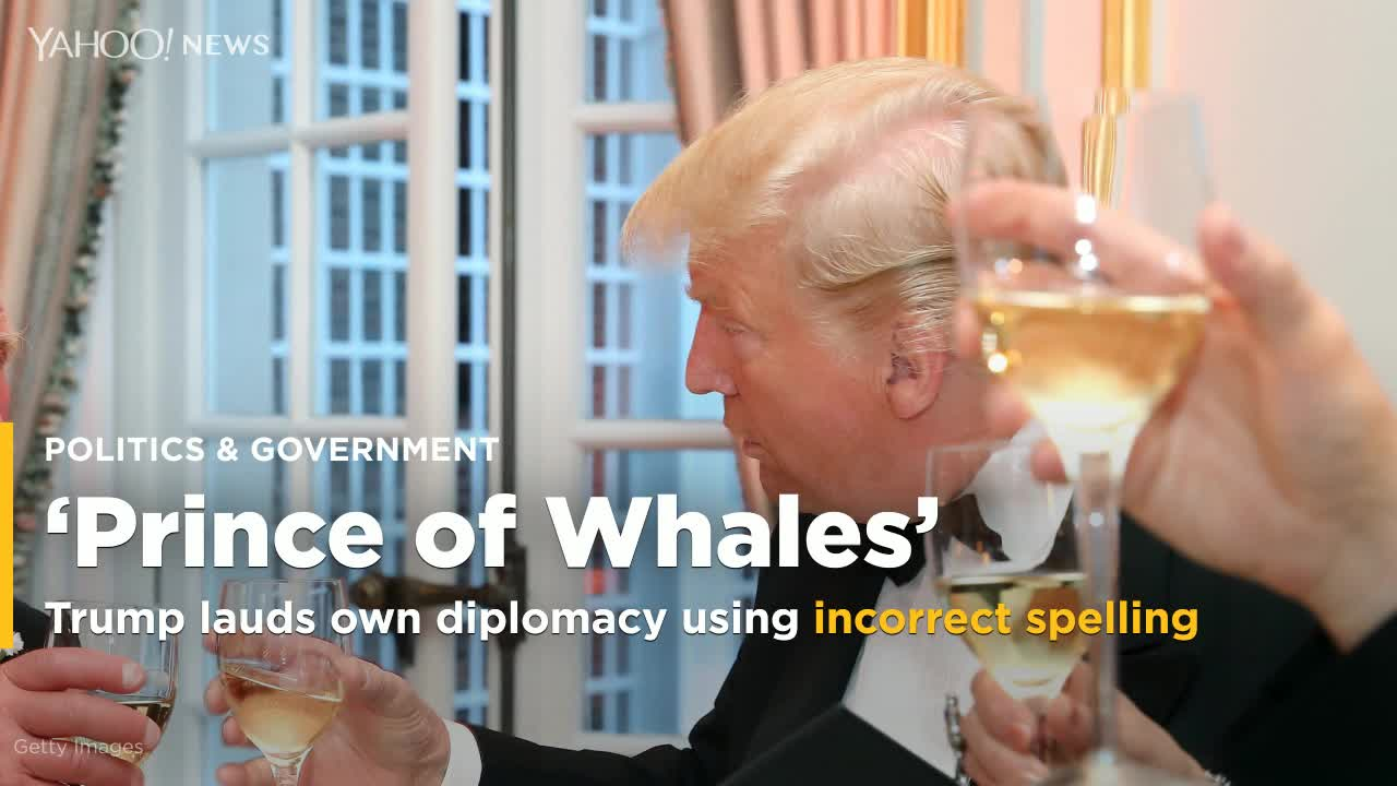 Donald Trump Boasts About Meeting The 'Prince Of Whales'