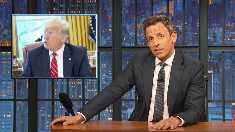 Seth Meyers Has A Funny Theory About Donald Trump's Air Force One Makeover