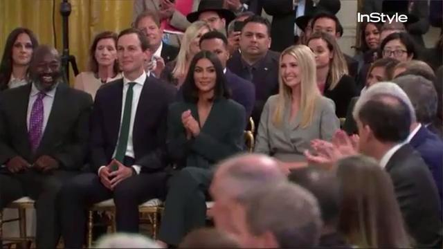 Kim Kardashian West returns to White House to announces rideshare program for former inmates with Trump