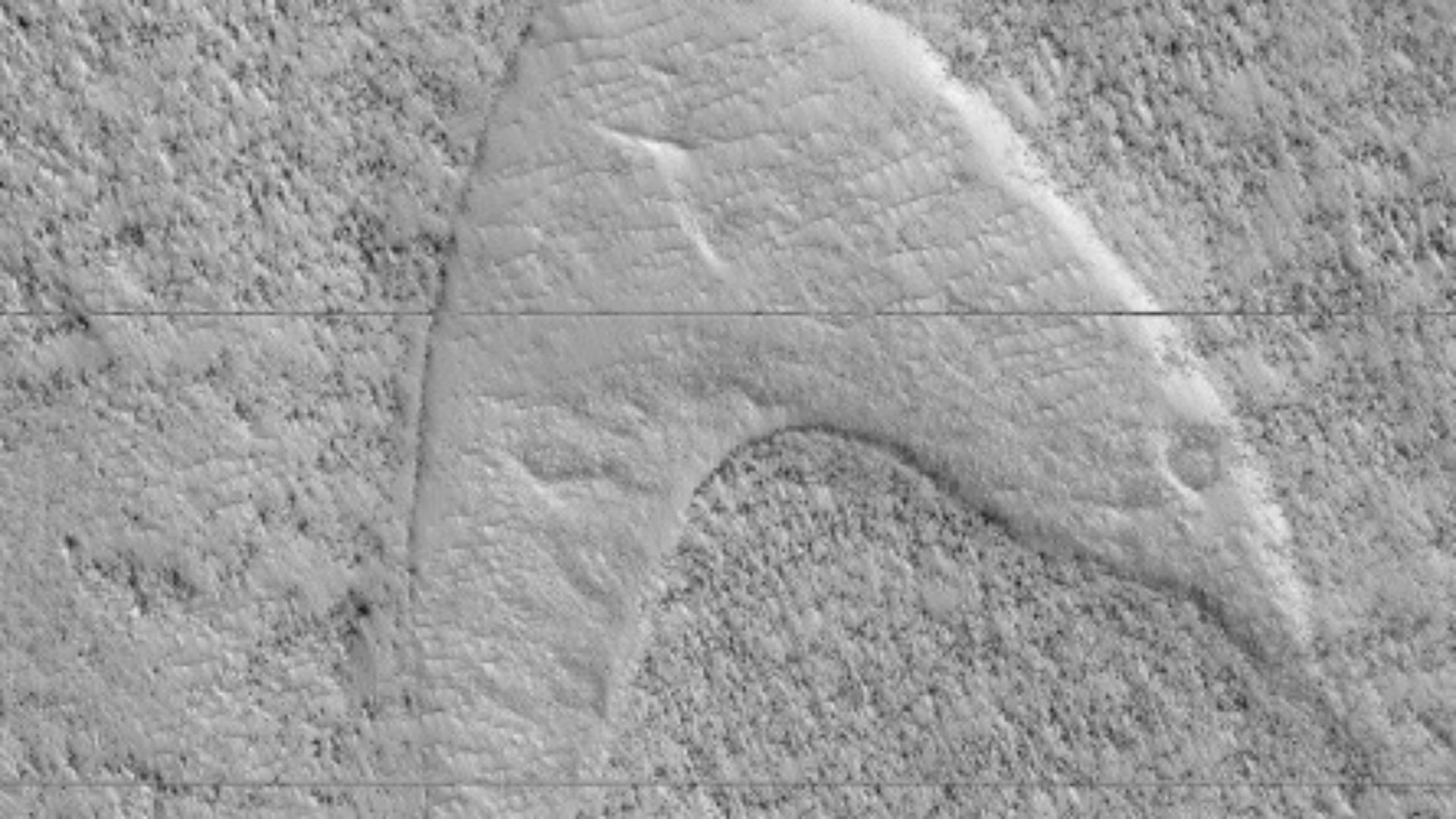 'Star Trek' Starfleet Logo Makes Appearance In New Mars Images
