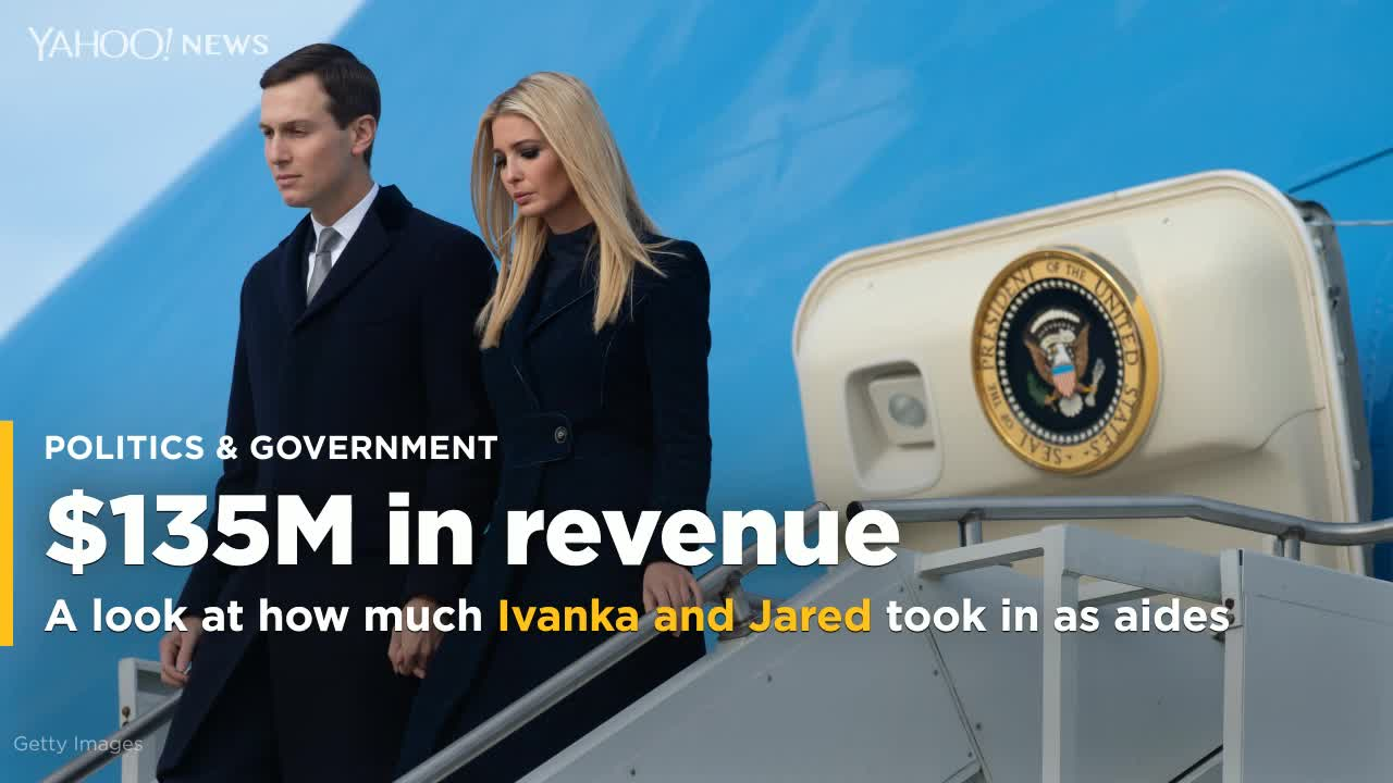Ivanka Trump Collected $4 Million Last Year From Dad's Controversial Washington Hotel