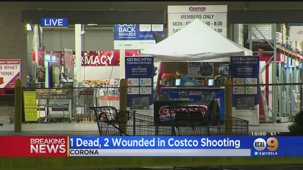 One Dead, Two Wounded In Shooting During Argument Inside Southern California Costco