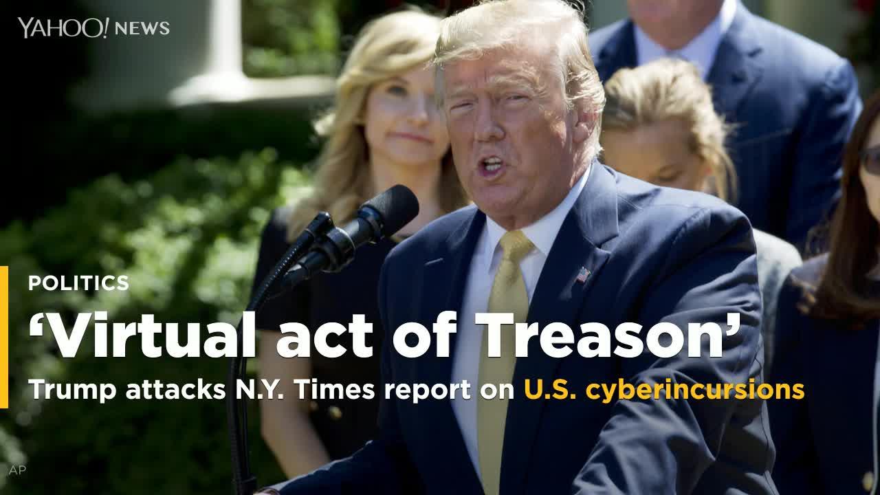 A.G. Sulzberger Torches Trump 'Treason' Claim: It 'Crosses A Dangerous Line'