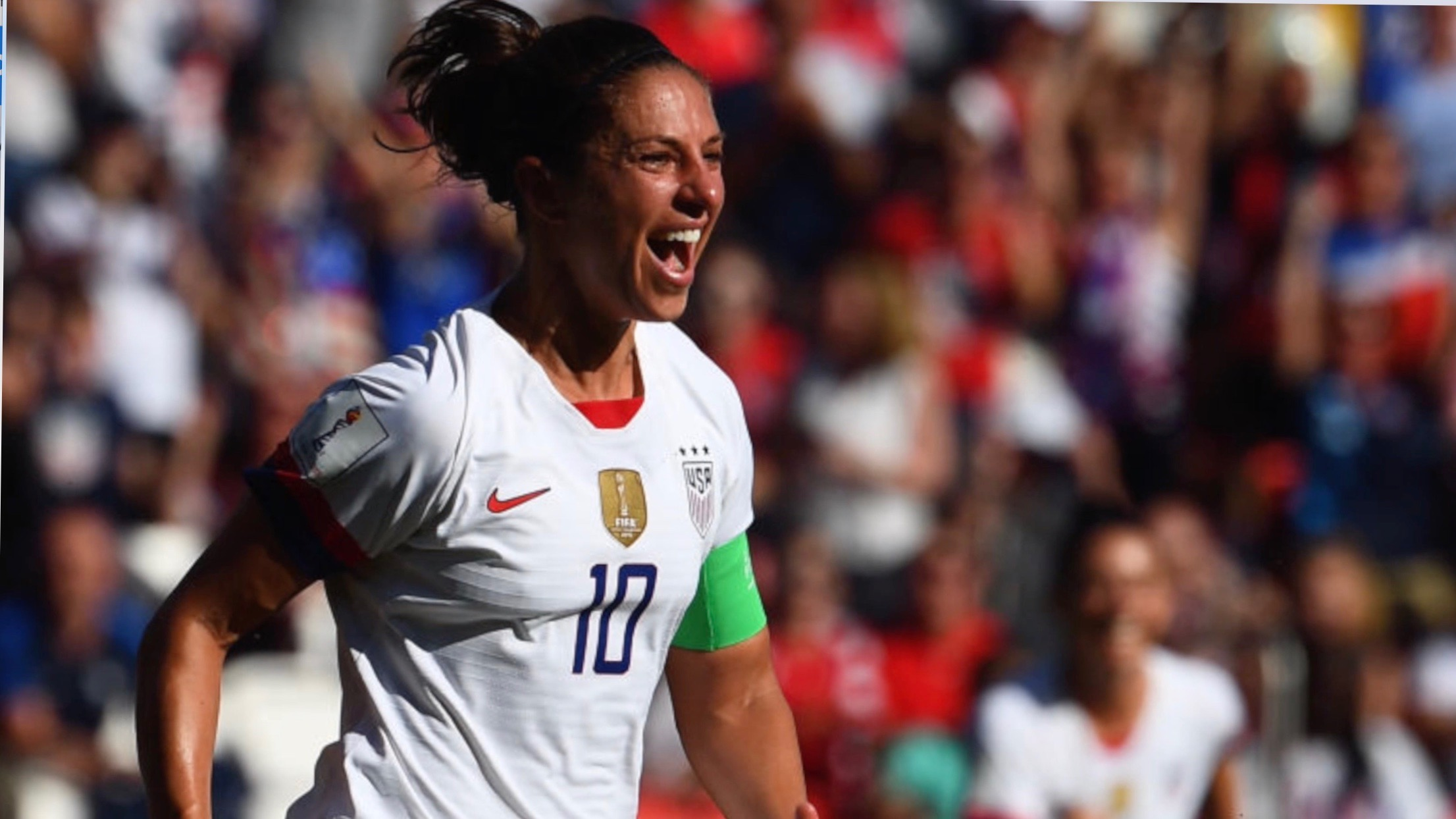 Carli Lloyd's Polite 'Golf Clap' Burns Celebration Critics At Women's World Cup