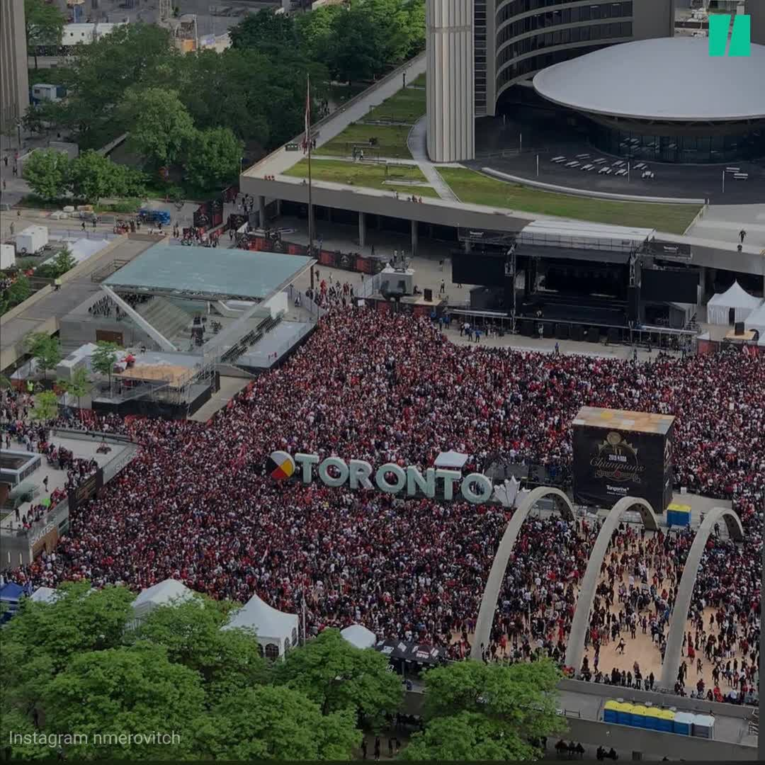 Sports Top Stories - Shooting Reported At Championship Parade for Toronto Raptors