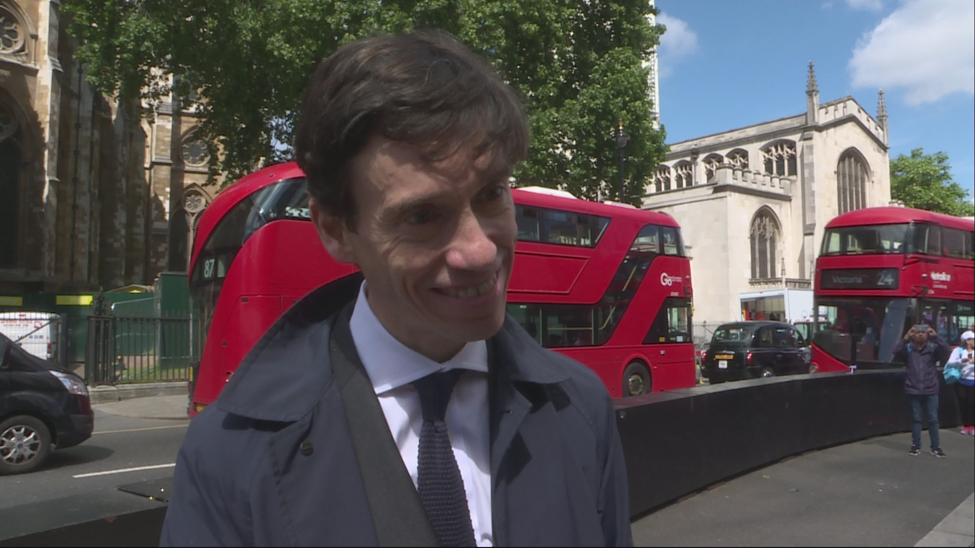 Rory Stewart Applauds Jeremy Corbyn's 'Invigorating' Campaigning Style