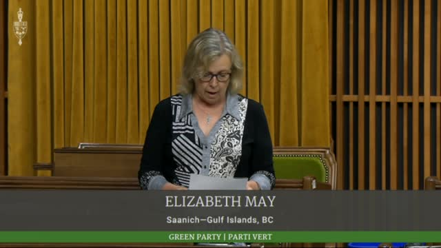 Elizabeth May Could Back Minority Government Of Any Party With Serious Climate Plan