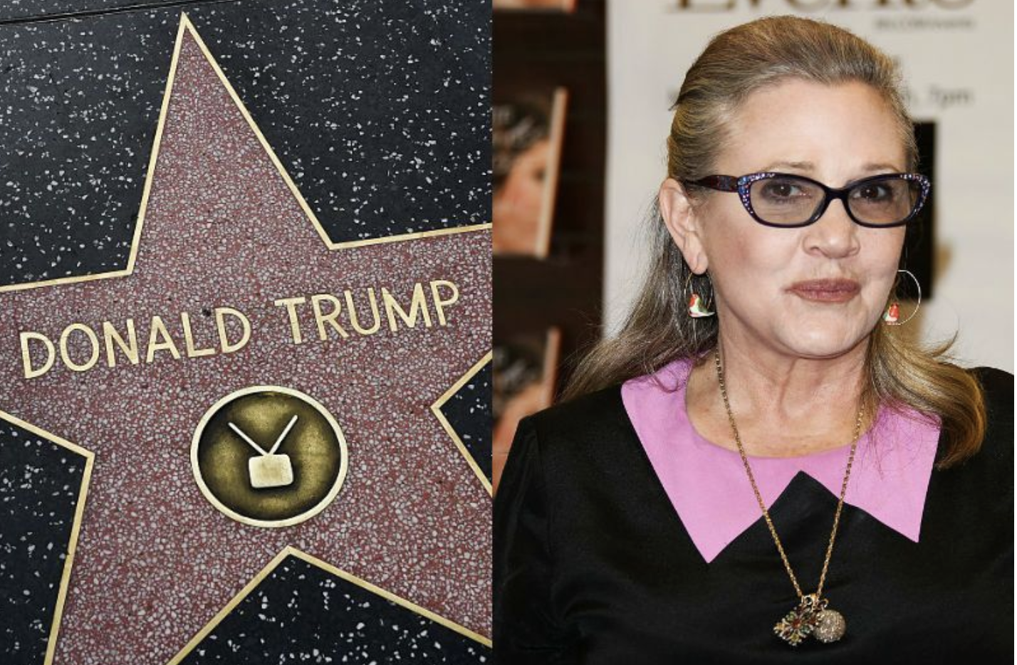 Mark Hamill Starts Viral Hashtag To Replace Trump's Walk Of Fame Star With Carrie Fisher