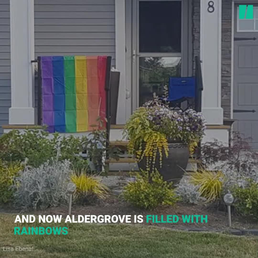 Chilliwack, B.C. Becomes Unlikely Hub For Rainbow Crosswalks