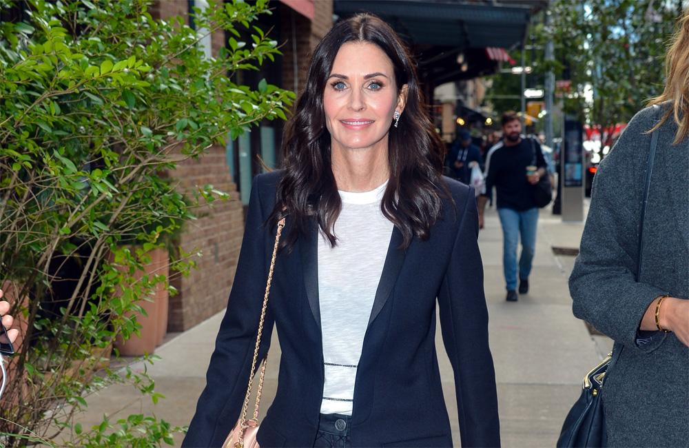 Courteney Cox Is There For You In Cool Swimming Pool Trick Video