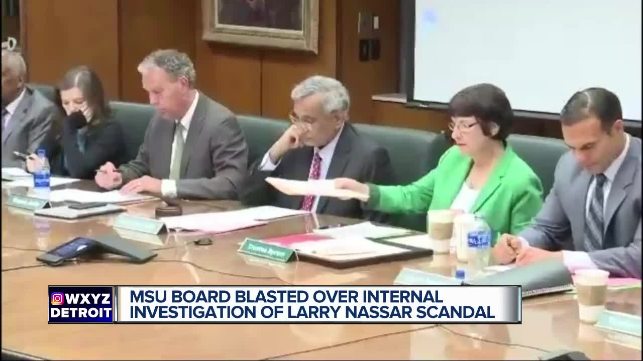 Report: Michigan State football trainer who failed to report Larry Nassar accused of sexual assault