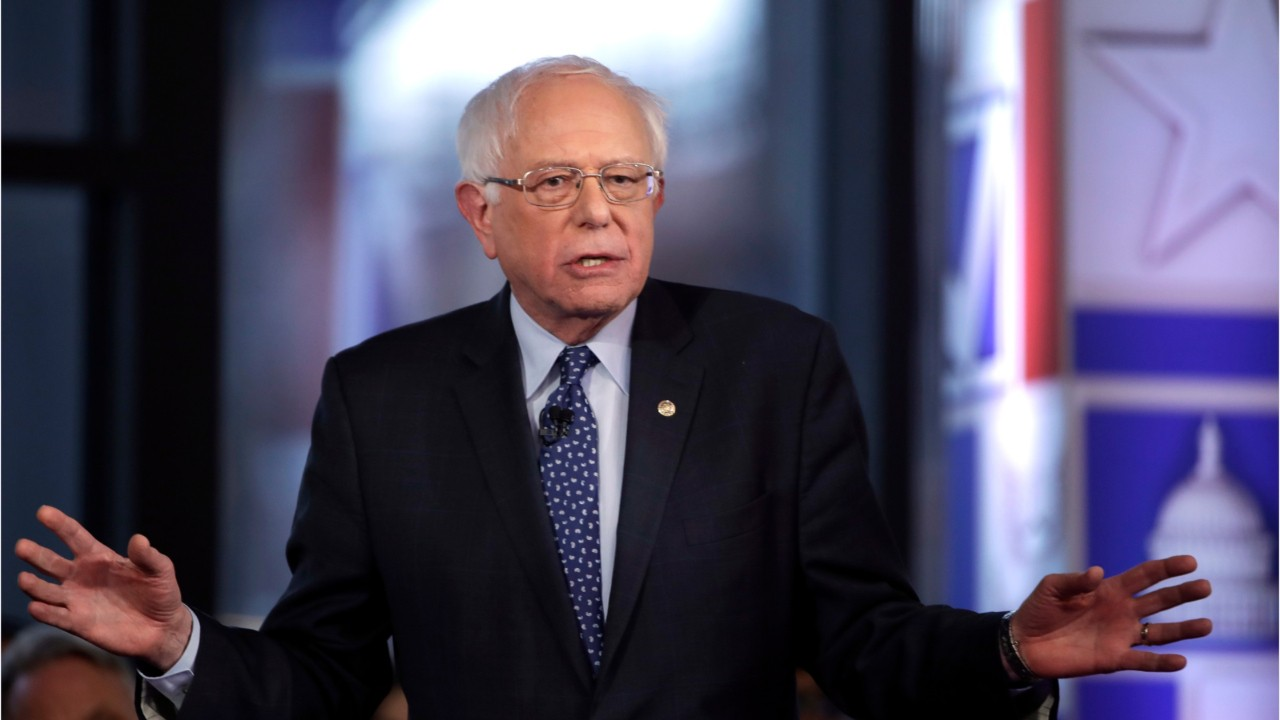 Politics - Sen. Bernie Sanders Announces Plan to Cancel All Student Debt