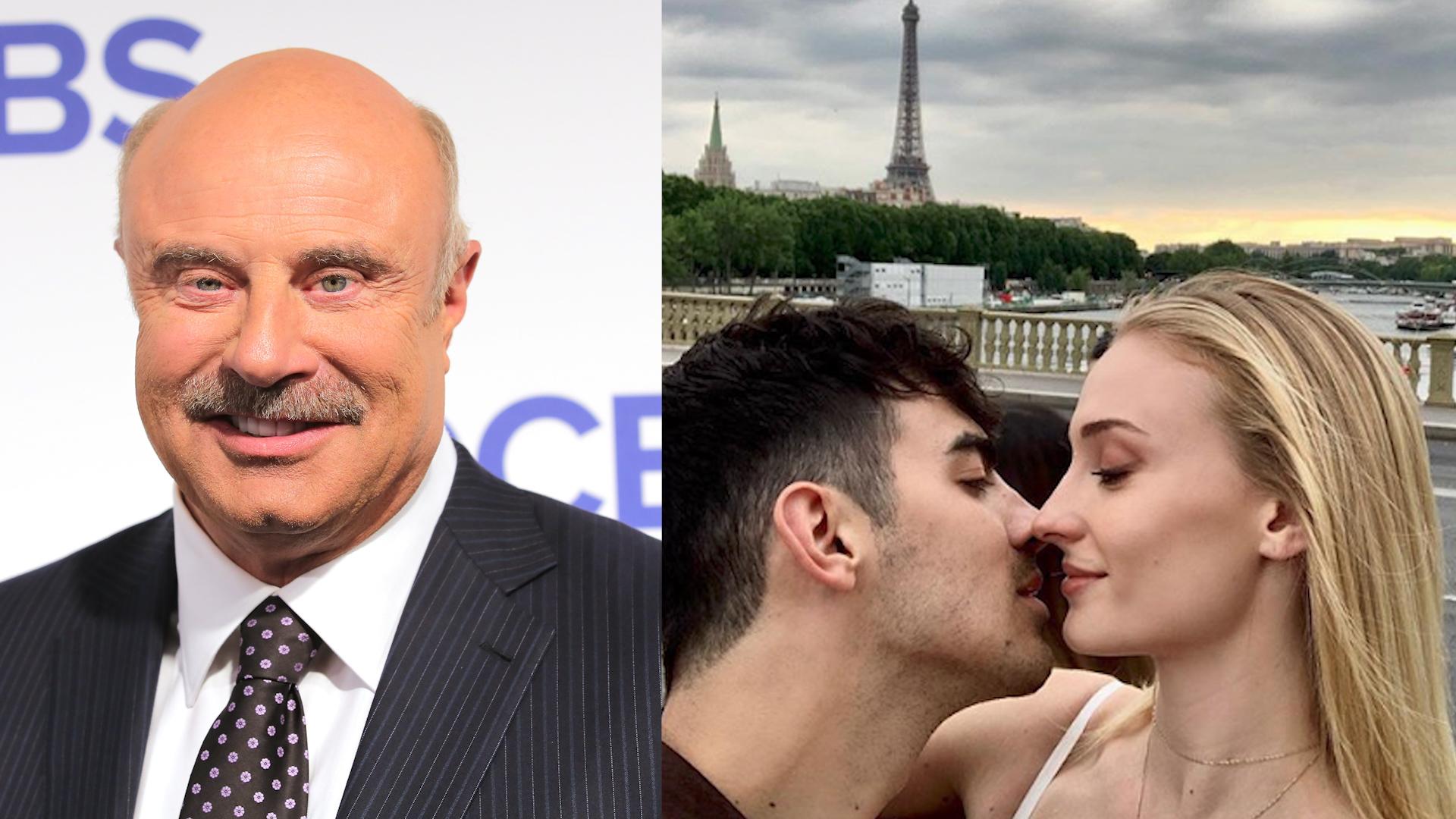 Dr. Phil's Brag Accidentally Revealed Sophie Turner And Joe Jonas' Wedding Date