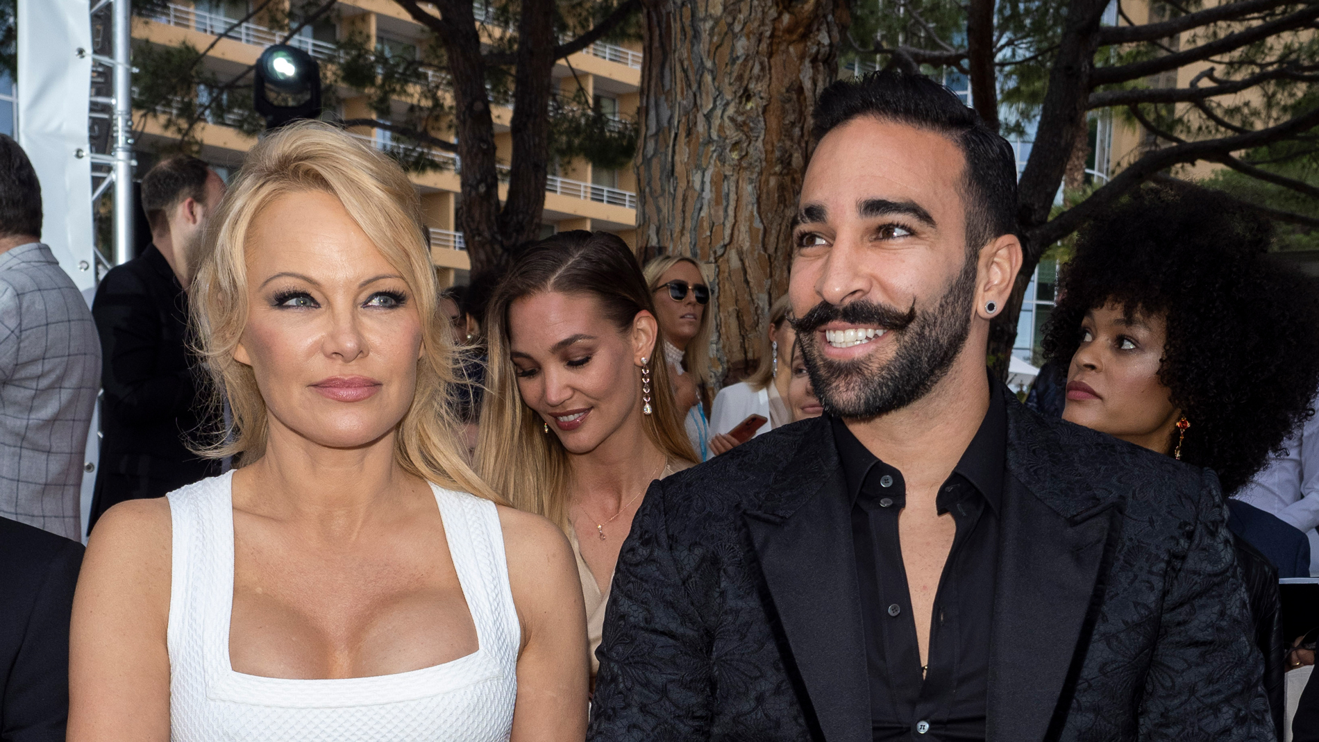 Pamela Anderson splits from soccer star boyfriend Adil Rami after cheating accusations