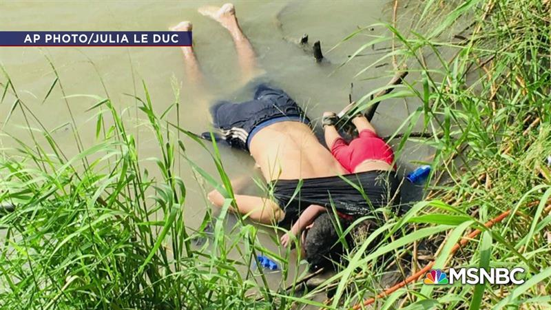 Picture Of Drowned Father And Daughter Lays Bare The Horror Of The US-Mexico Border