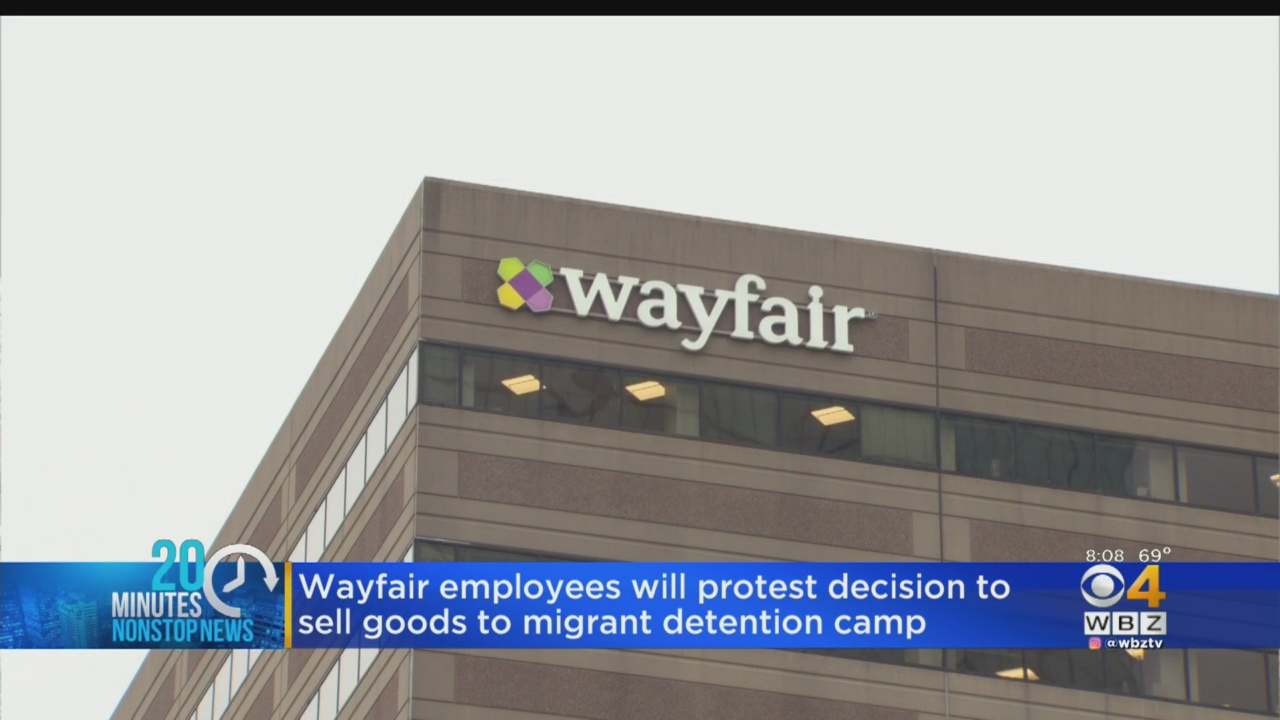 Wayfair Employees To Protest Company's Business With Migrant Border Camps