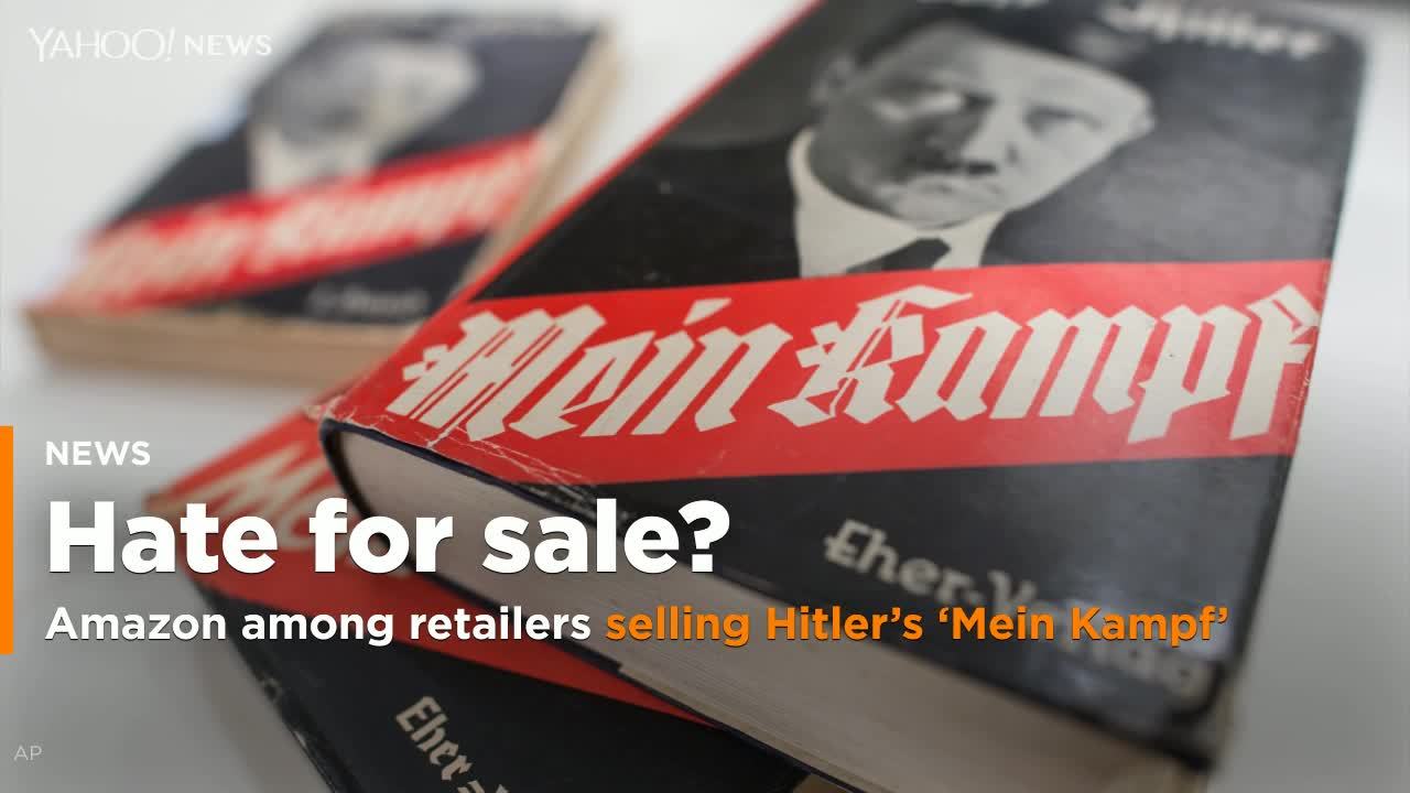 German Jewish Leader Denounces Amazon For Allowing Sale Of Pro-Nazi Merchandise