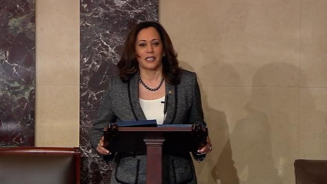 Kamala Harris Rips Into Trump: 'We Have A Predator Living In The White House'