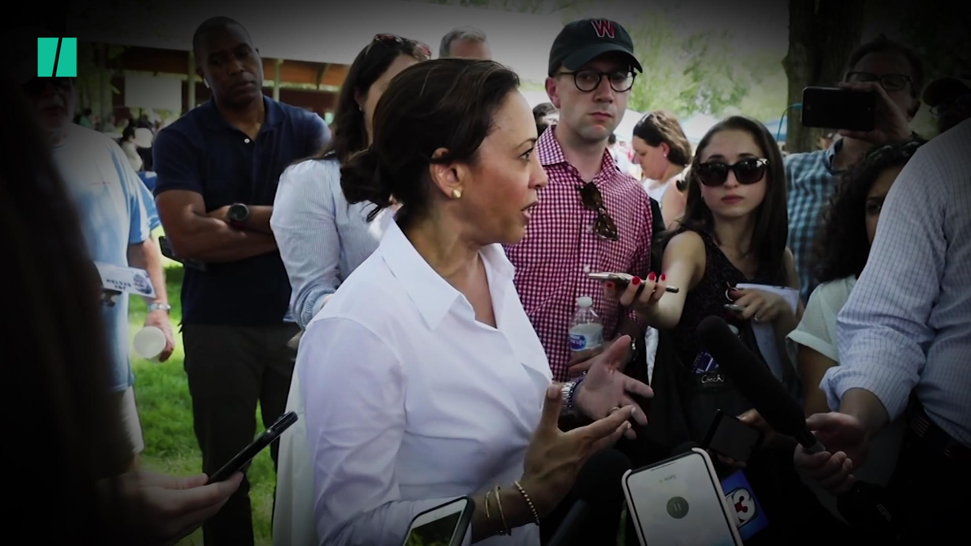 Kamala Harris Responds To People Who Don't Think She's 'Black Enough'