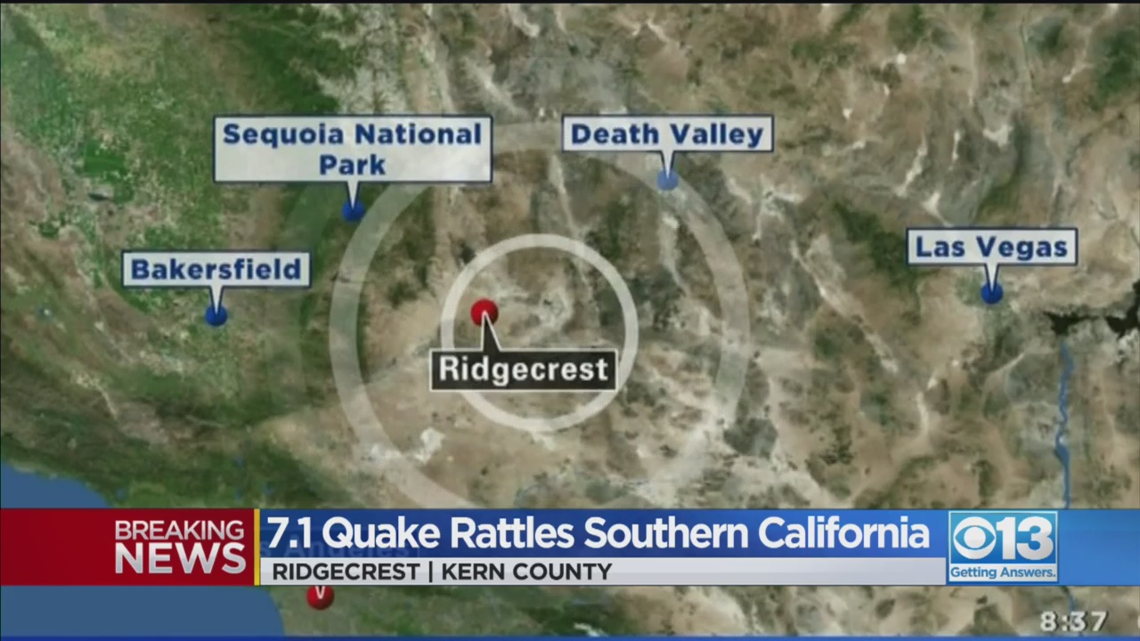 Another Powerful Earthquake Has Hit California