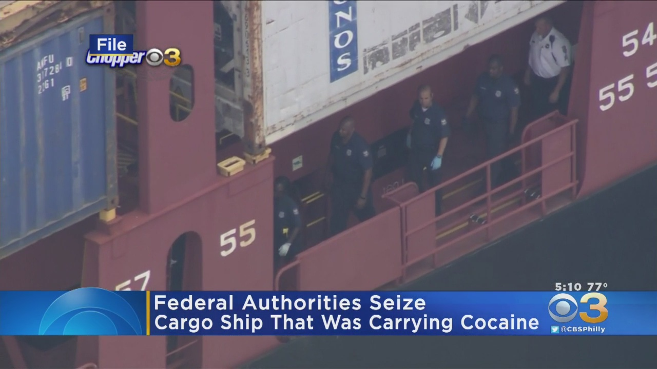 Container Ship Seized After Record $1.3 Billion Cocaine Bust: CBP