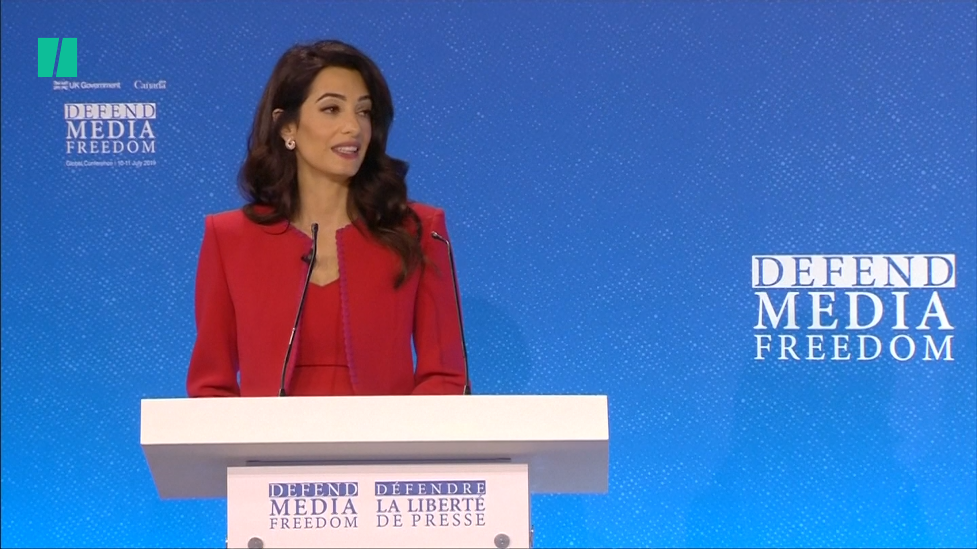 Amal Clooney Issues Stark Warning About Donald Trump's Attacks On The Press