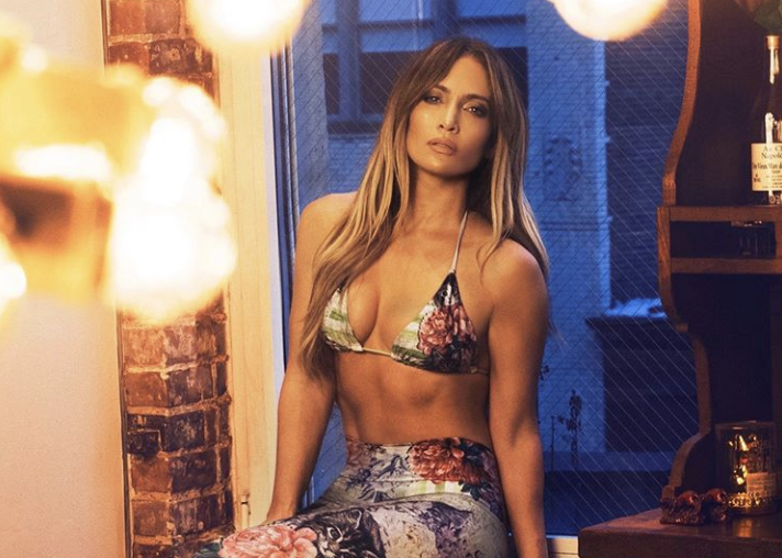 Jennifer Lopez flaunts her abs ahead of 50th birthday: 'Queen of aging backwards'