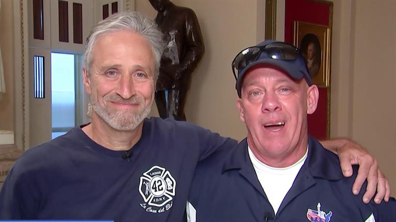 House Passes 9/11 First Responders Bill Passionately Supported By Jon Stewart