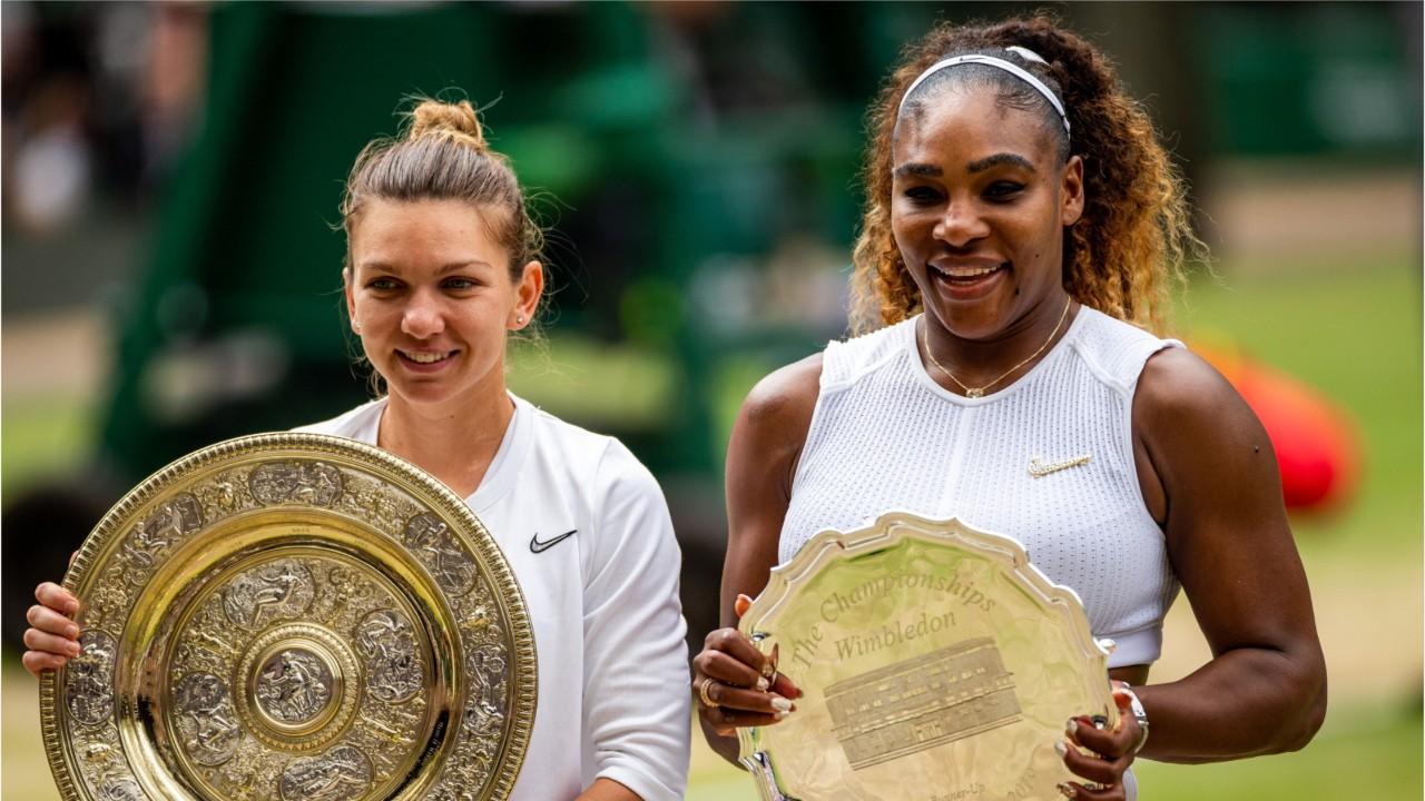 Simona Halep Beats Serena Williams And Wins Her First Wimbledon Title