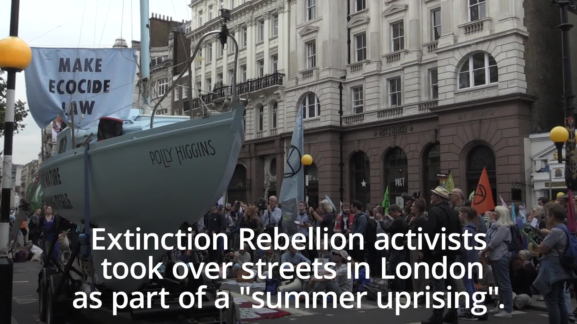 John Humphrys Accuses Extinction Rebellion Of Wanting A 'Permanent State Of Recession' In The UK