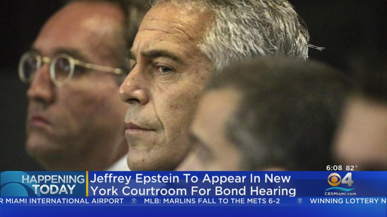 Jeffrey Epstein Deemed 'Extraordinary' Flight Risk As Judge Weighs Bail