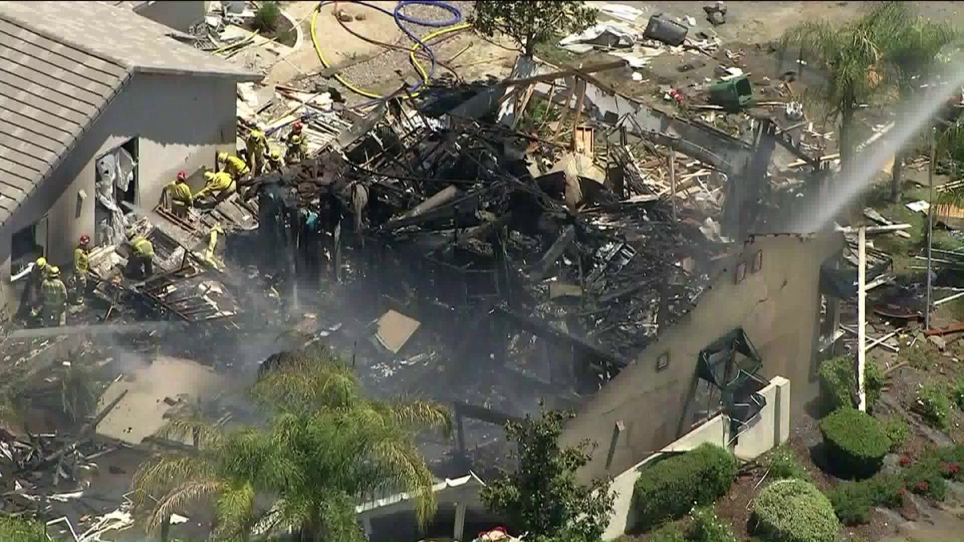 Local News - Damage Assessment Continues at Ground Zero of Murrieta Gas Explosion