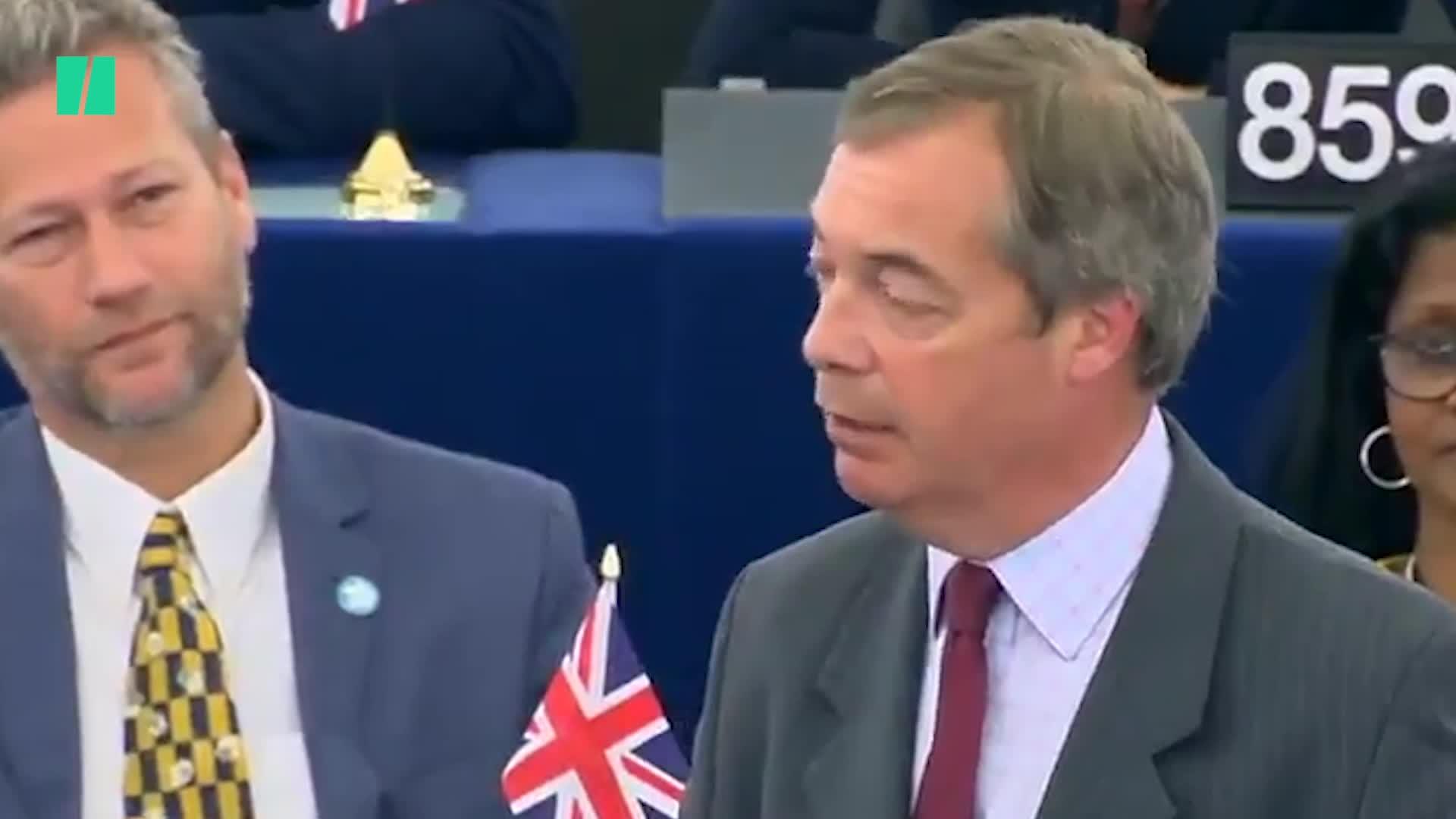Nigel Farage Suggests Ursula Von Der Leyen Is A Communist