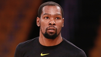 Kevin Durant updates Achilles rehab, gets up shots on swimming pool hoop