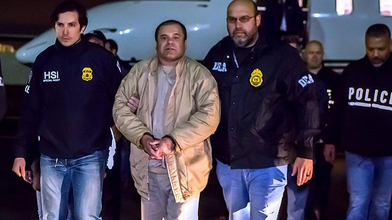 National News - Notorious Drug Lord 'El Chapo' Sentenced to Life in Prison Plus 30 Years