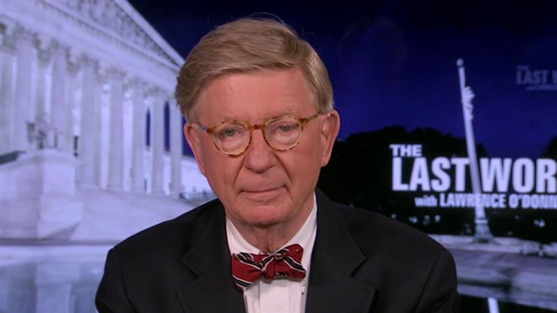 Conservative Icon George Will: 'No Question' Trump Should Lose Next Year