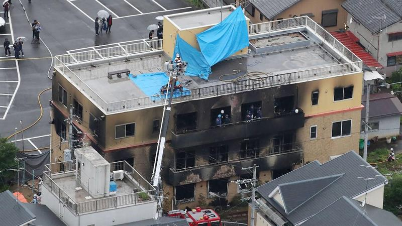 National News - 33 People Killed in Suspected Arson Attack on Japanese Animation Studio