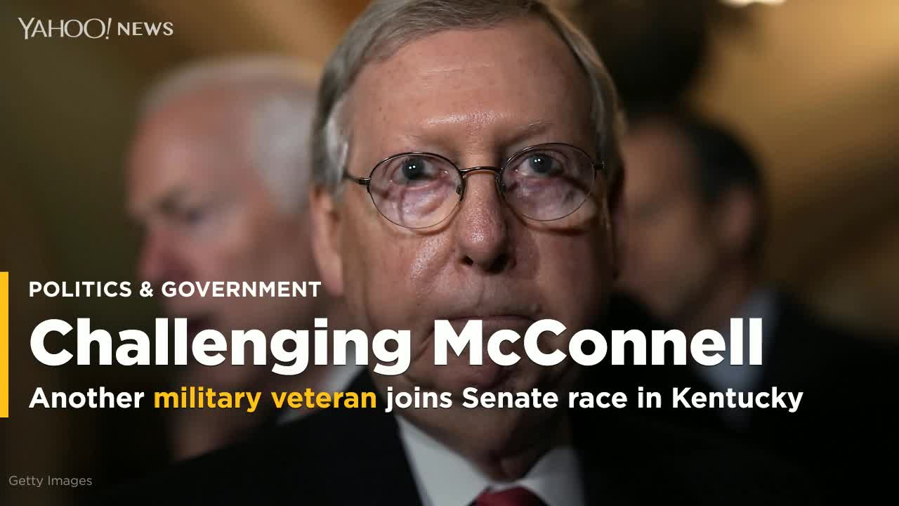 Mitch McConnell Gets Another Democratic Challenger In Kentucky's 2020 Senate Race