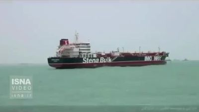 Politics - Britain Warns Iran Over Seizure of Oil Tanker