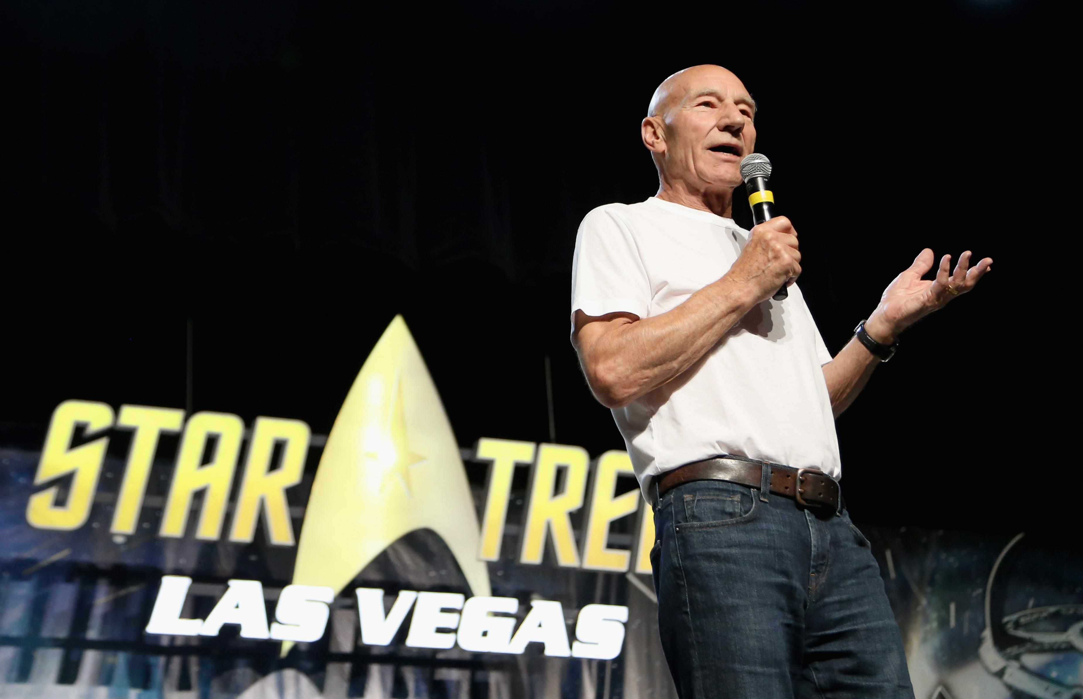 Patrick Stewart Unveils 'Star Trek: Picard' Trailer, Reveals 2 Surprise Co-Stars