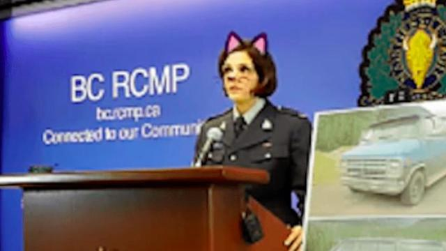 Cat Filter Blunder Adds Bizarre Twist To Double Homicide Press Conference